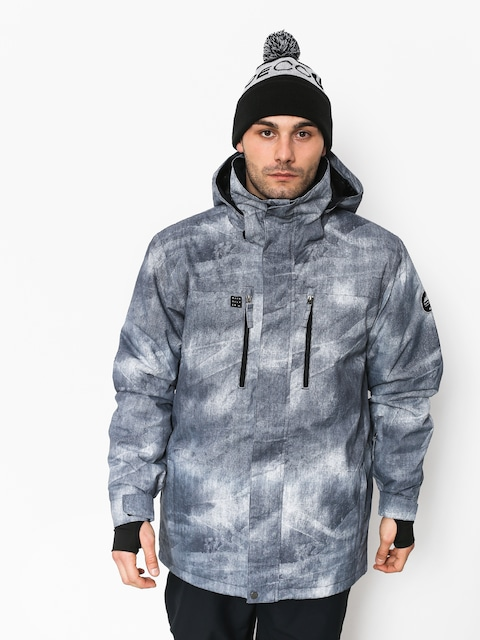 Snowboardová bunda Quiksilver Mission Pr (simple texture grey)