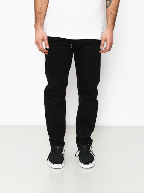 Nohavice Stoprocent Skull Regular Slim (black)