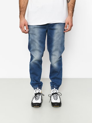 Nohavice Stoprocent Classic Jeans Joggers (blue)