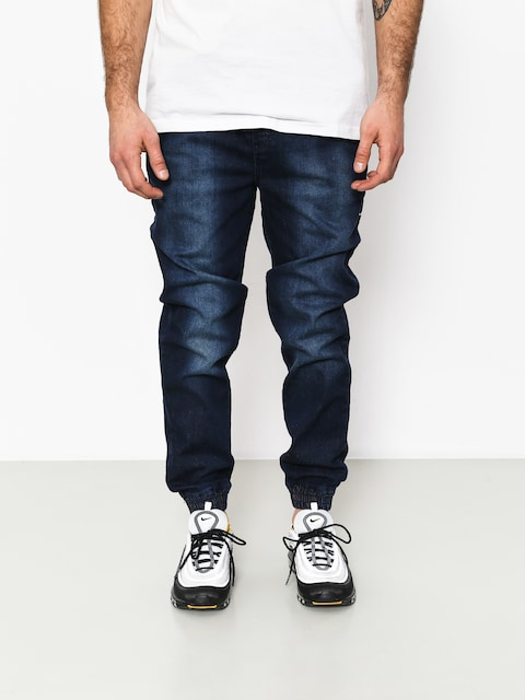 Nohavice Stoprocent Classic Jeans Joggers (dark blue)