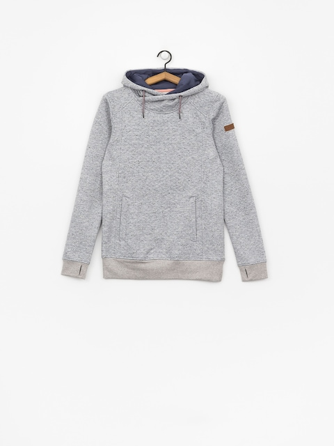 Mikina s kapucňou Roxy Dispy HD Wmn (warm heather grey)