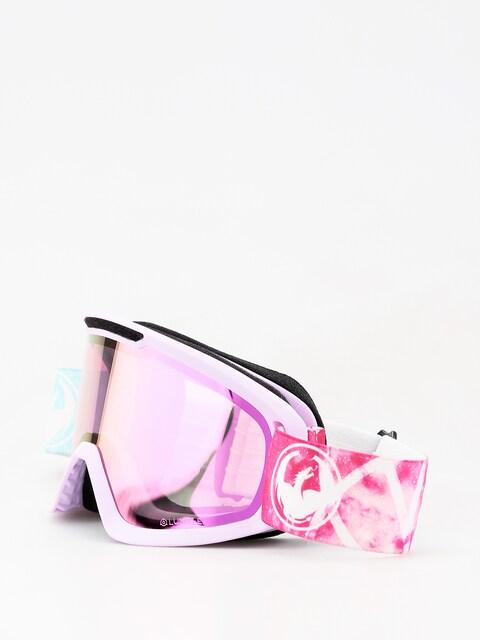 Okuliare na snowboard Dragon DX2 (galaxy/lumalens pink ion/dark smoke)