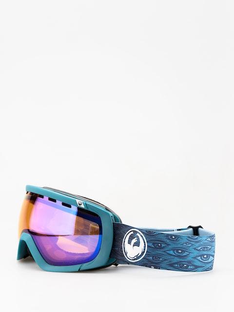 Okuliare na snowboard Dragon Rogue (midnight/lumalens blue ion/lumalens amber)