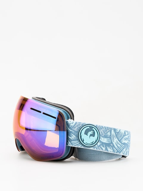 Okuliare na snowboard Dragon X1s (plex/lumalens blue ion/lumalens amber)