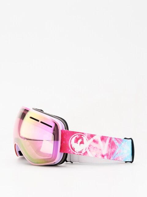 Okuliare na snowboard Dragon X1s (galaxy/lumalens pink ion/dark smoke)