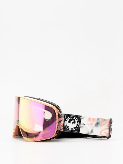 Okuliare na snowboard Dragon NFX2 (flaunt/lumalens pink ion/dark smoke)