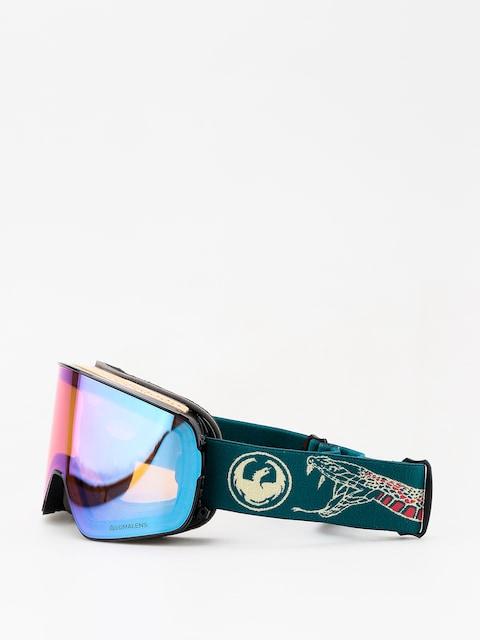 Okuliare na snowboard Dragon NFX2 (rattler/lumalens blue ion/lumalens amber)