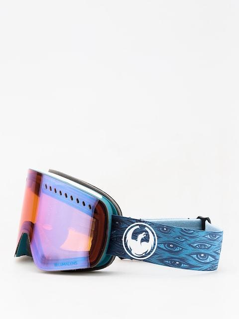 Okuliare na snowboard Dragon NFXs (midnight/lumalens blue ion/lumalens amber)