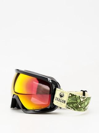 Okuliare na snowboard Dragon D3 (plex/lumalens red ion/lumalens amber)