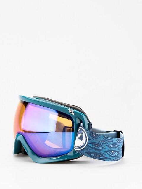 Okuliare na snowboard Dragon D3 (midnight/lumalens blue ion/lumalens amber)
