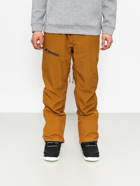 Snowboardové nohavice Quiksilver Forest Oak (golden brown)