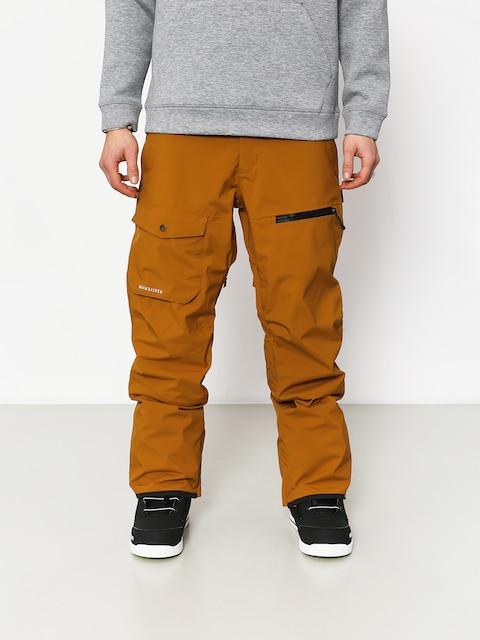 Snowboardové nohavice Quiksilver Utility (golden brown)