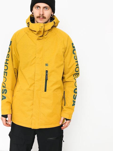 Snowboardová bunda DC Ripley (golden rod)