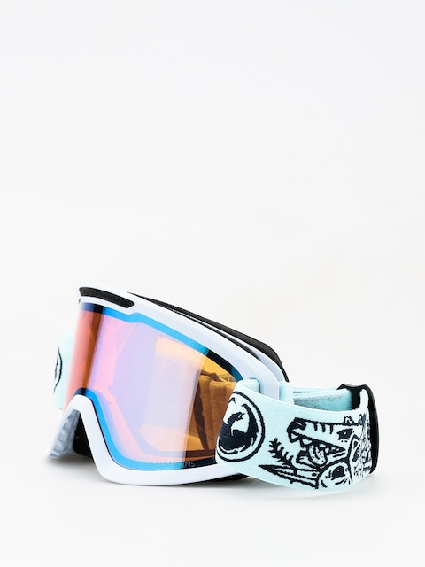 Okuliare na snowboard Dragon DX2 (danger/lumalens blue ion/lumalens amber)