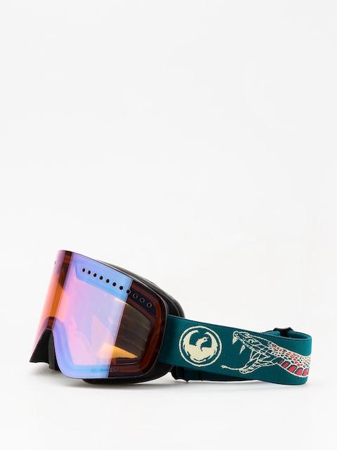 Okuliare na snowboard Dragon NFX (rattler/lumalens blue ion/lumalens amber)