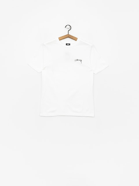 Tričko Stussy Smooth Stock Wmn (white)