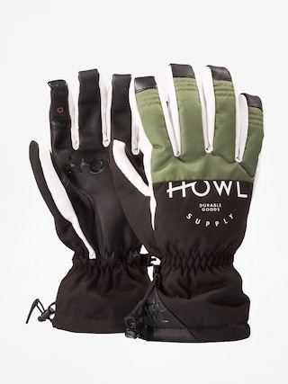 Rukavice Howl Team Glove (olive)