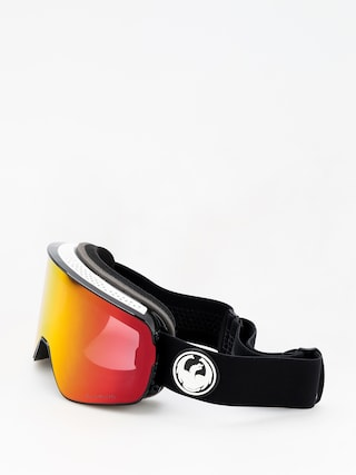 Okuliare na snowboard Dragon NFX2 (black/lumalens red ion/l rose)