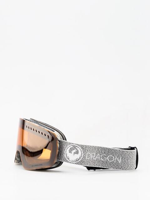 Okuliare na snowboard Dragon NFXs (mill lumalens silver ion/dark smoke)
