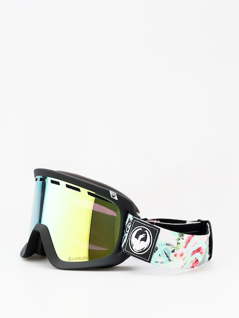 Okuliare na snowboard Dragon D1 (flaunt/lumalens gold ion/dark smoke)