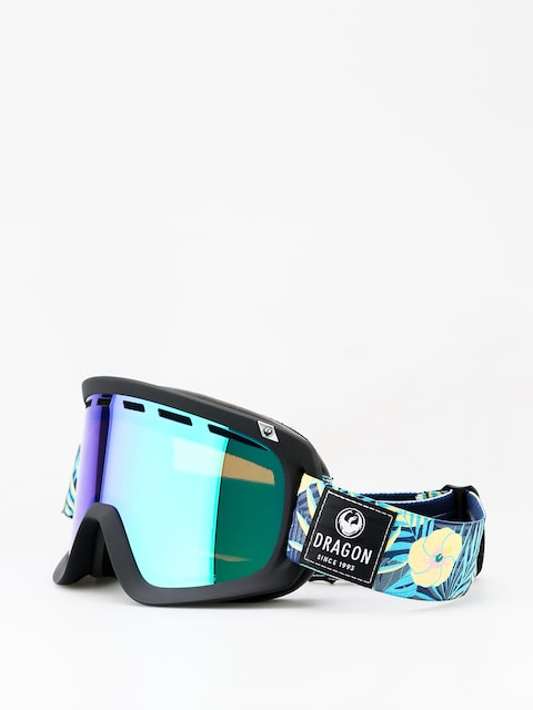 Okuliare na snowboard Dragon D1 (aloha/lumalens green ion/lumalens amber)