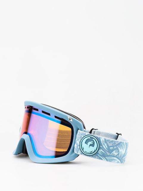 Okuliare na snowboard Dragon D1 (plex/lumalens blue ion/lumalens amber)