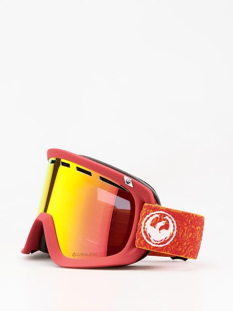 Okuliare na snowboard Dragon D1 (maze/lumalens red ion/lumalens rose)