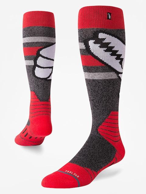 Ponožky Stance Crab Grab (red)