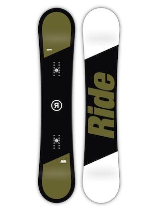 Snowboard Ride Agenda (black/green/white)