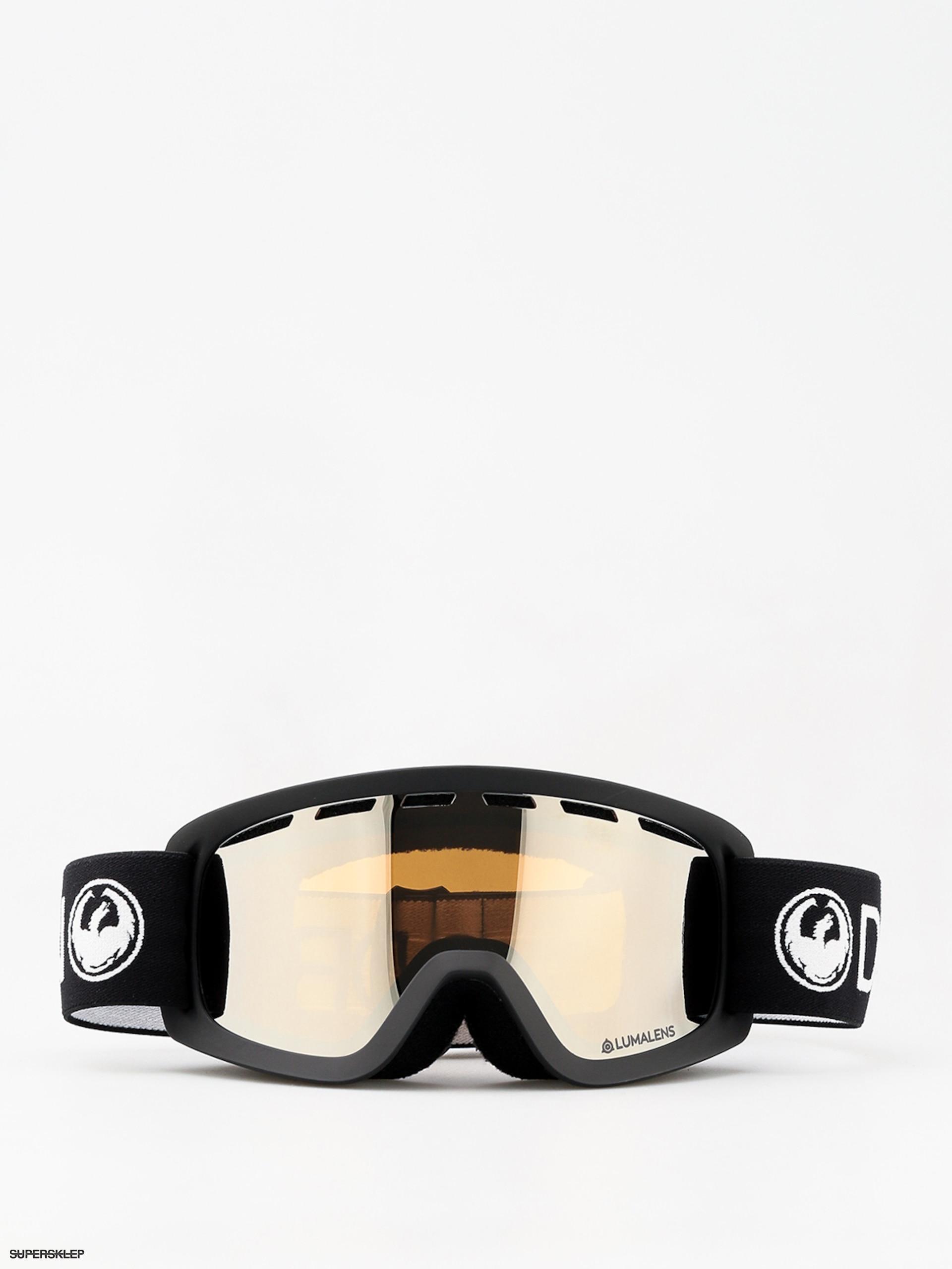 8dc294a47 Detské okuliare na snowboard Lil D (black/lumalens silver ion)