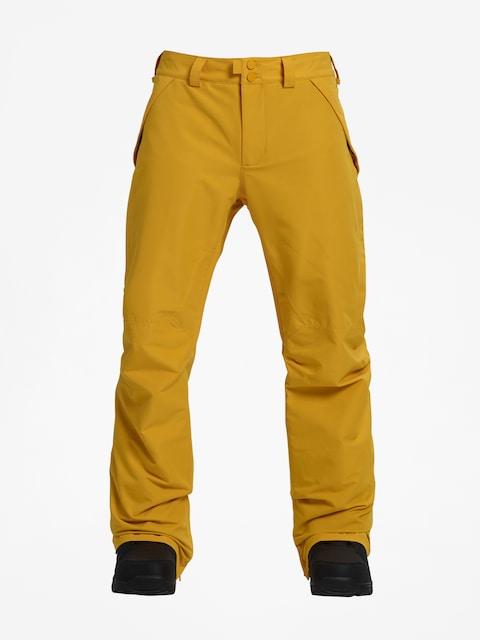 Snowboardové nohavice Burton Vent (golden rod)