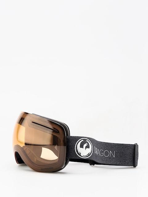 Okuliare na snowboard Dragon X1 (echo/photochromic amber)