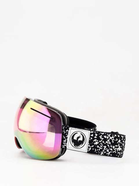 Okuliare na snowboard Dragon X1 (scribe/lumalens pink ion/dark smoke)