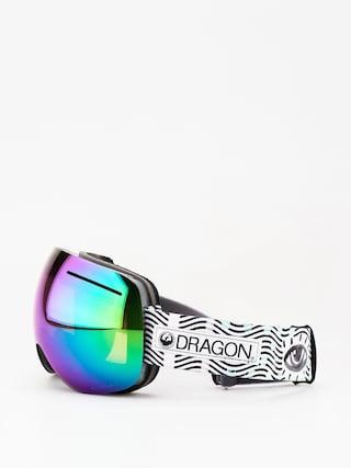 Okuliare na snowboard Dragon X1 (new wave/lumalens green ion/lumalens amber)