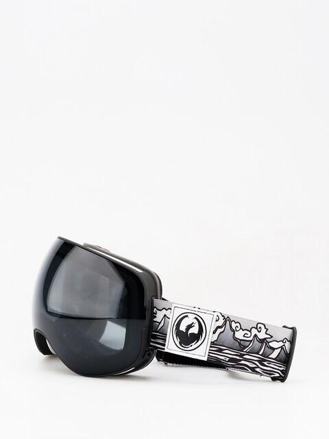 Okuliare na snowboard Dragon X2 (iguchi sig/dark smoke/lumalens rose)