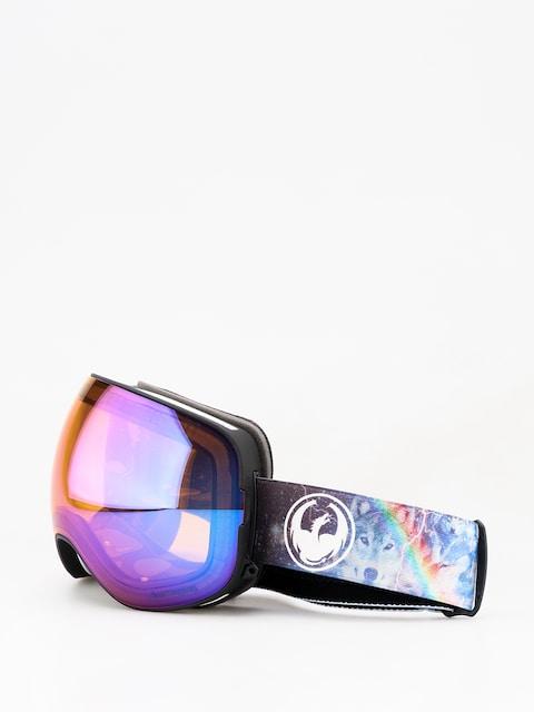 Okuliare na snowboard Dragon X2 (galaxy/lumalens blue ion/lumalens amber)