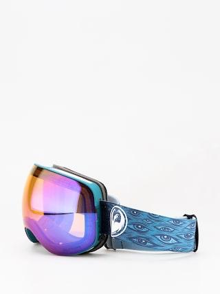 Okuliare na snowboard Dragon X2 (midnight/lumalens blue ion/lumalens amber)