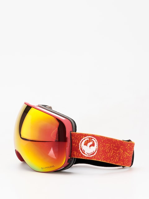Okuliare na snowboard Dragon X2 (maze/lumalens red ion/lumalens rose)