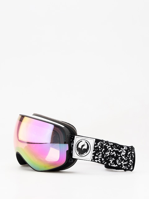 Okuliare na snowboard Dragon X2s (scribe/lumalens pink ion/dark smoke)