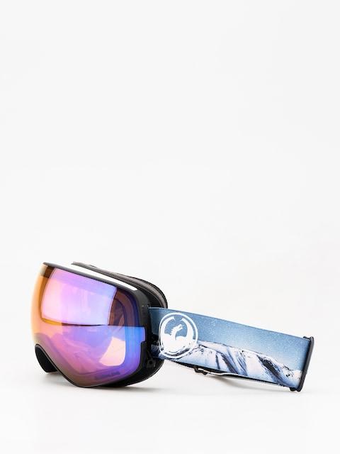 Okuliare na snowboard Dragon X2s (realm/lumalens blue ion/lumalens amber)
