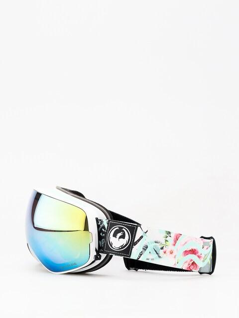 Okuliare na snowboard Dragon X2s (flaunt/lumalens gold ion/dark smoke)