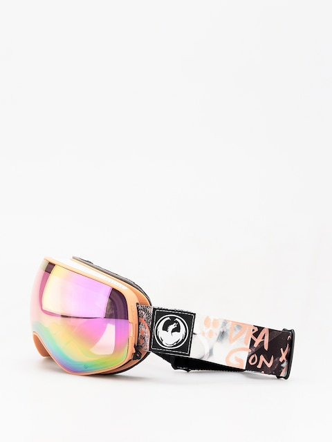 Okuliare na snowboard Dragon X2s (flaunt/lumalens pink ion/dark smoke)