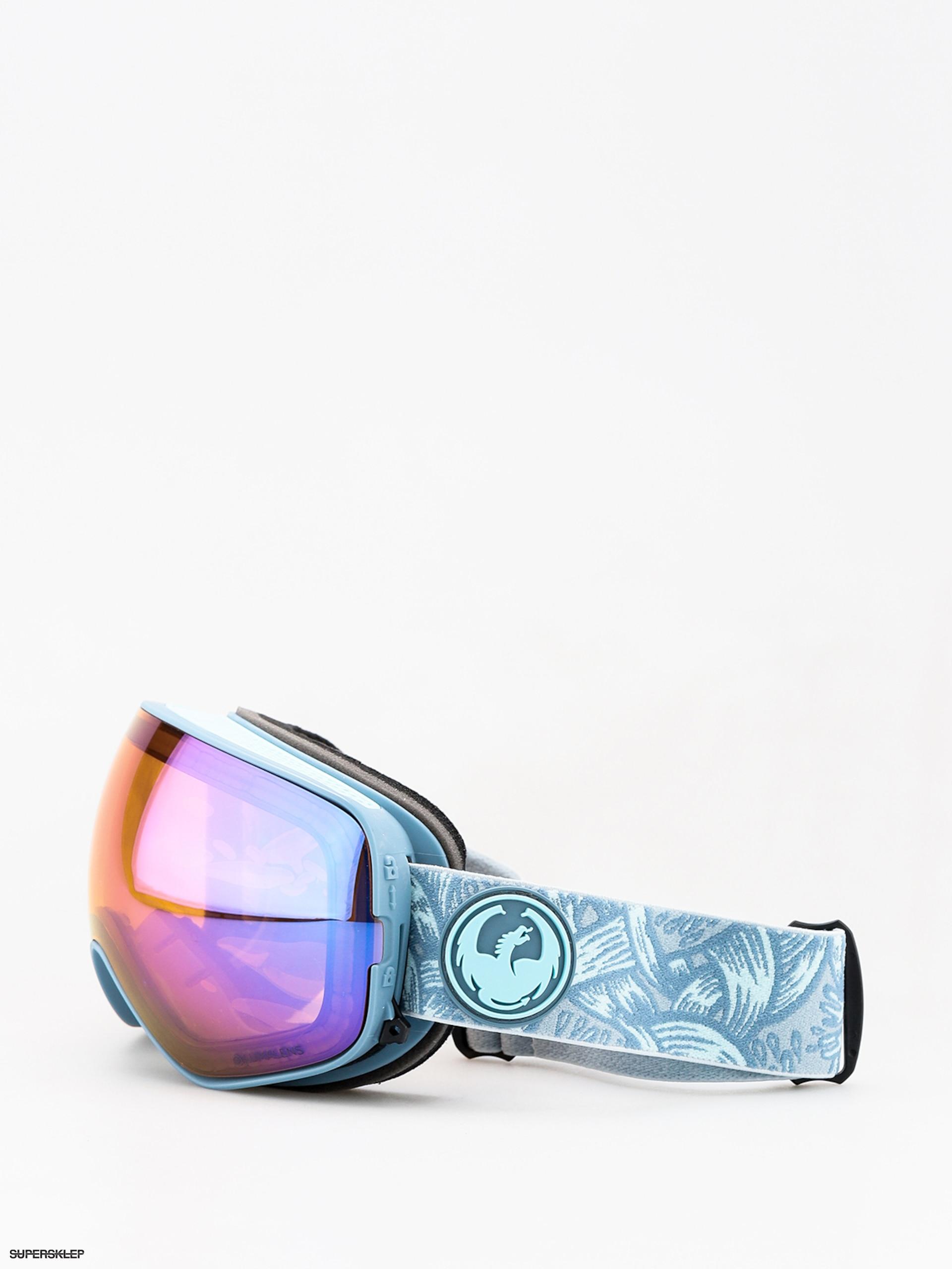 91328db17 Okuliare na snowboard Dragon X2s (plex/lumalens blue ion/lumalens amber)