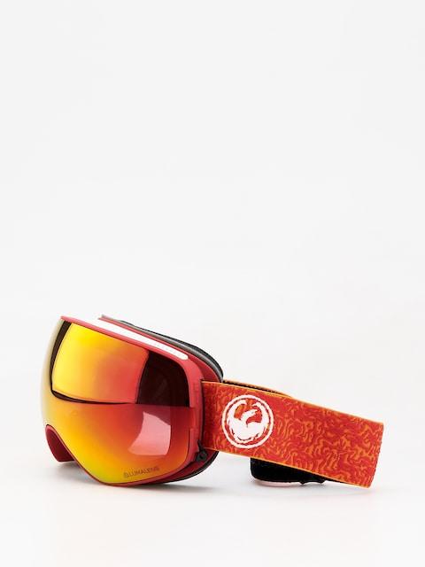 Okuliare na snowboard Dragon X2s (maze/lumalens red ion/lumalens rose)
