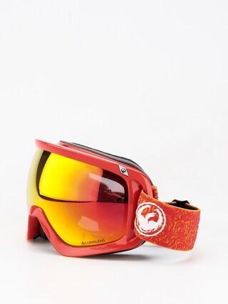 Okuliare na snowboard Dragon D3 (maze/lumalens red ion/lumalens rose)