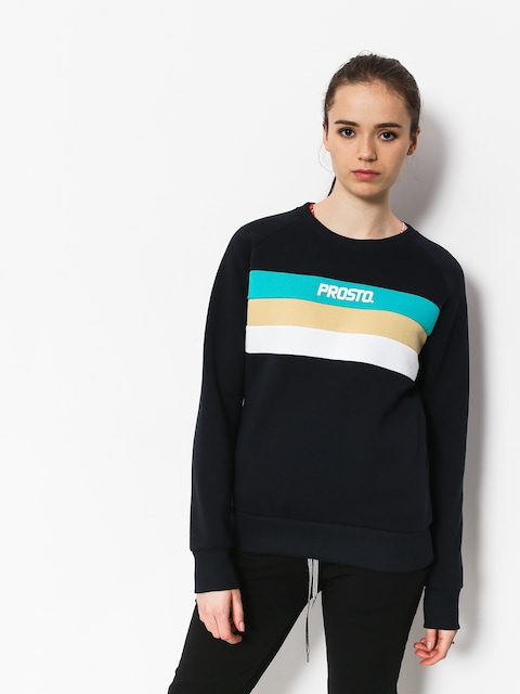 Mikina Prosto Happy Crewneck Wmn (dark navy)