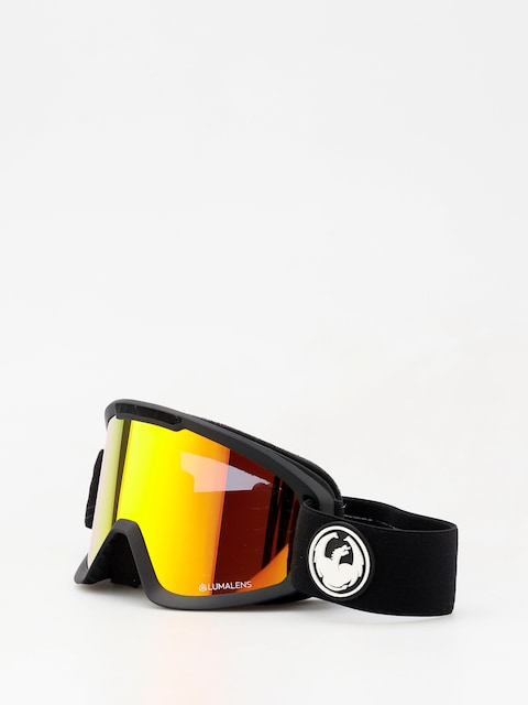 Okuliare na snowboard Dragon DX2 (black/lumalens red ion/l rose)
