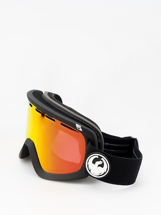 Okuliare na snowboard Dragon D1 (black/lumalens red ion/l rose)