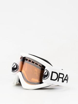 Okuliare na snowboard Dragon DXS (white/lumalens silver ion)