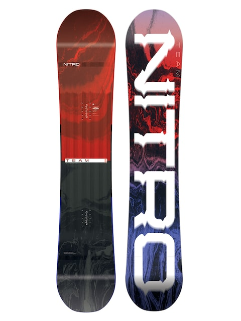 Snowboard Nitro Team Wide Gullwing (multi)